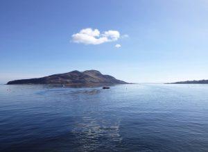 Holy Isle. Photo: Jessica Hart